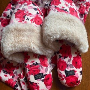 Victoria's Secret new fur-lined slippers
